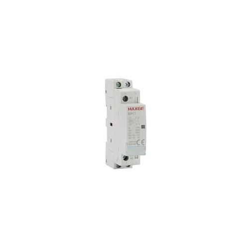 LOAD-SHEDDING RELAY DIN RAIL 2P 2NO 25A 230VAC EPC1 MXG