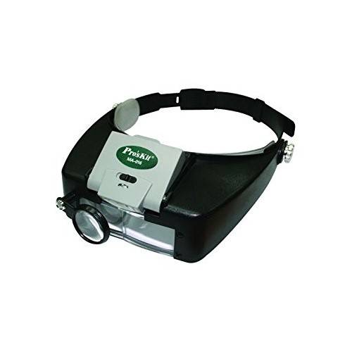 Proskit MA - 016 Headband Magnifier with LED Light