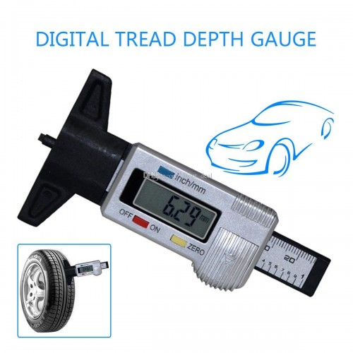 High Accuracy Tyre Thread Tester gauge For Car Measuring Tools