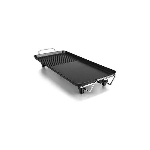 Barbecue Grill Multi-Function Non-Stick Pan Electric Baking Tray Stainless Steel Rectangular Grill