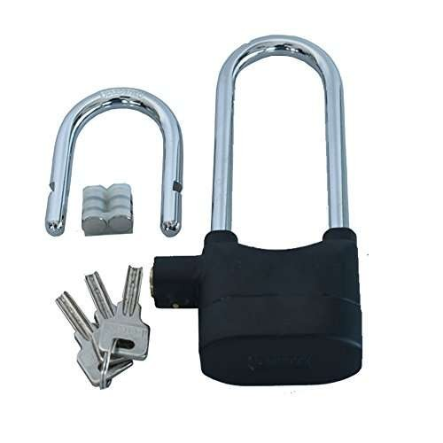 JAGAN HARDWARE Exclusive Alarm Lock with Long and Small Lock Handle