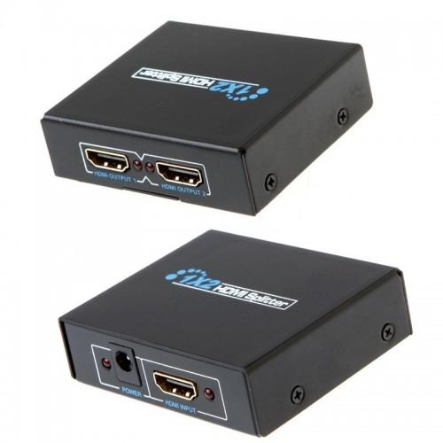Delock HDMI Splitter 1x HDMI in to 2x HDMI out 4K