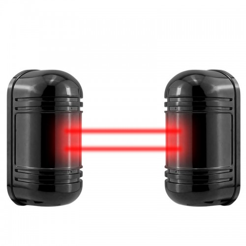 Wired Active Infrared Alarm Intrusion Detector Dual Beam Sensor