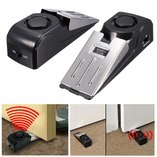 120dB Door Stop Alarm Door Stopper Security System Security