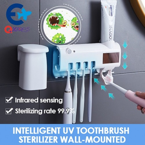 Smart PIR Induction Electric Toothbrush Sterilizer Toothbrush Sterilization Holder
