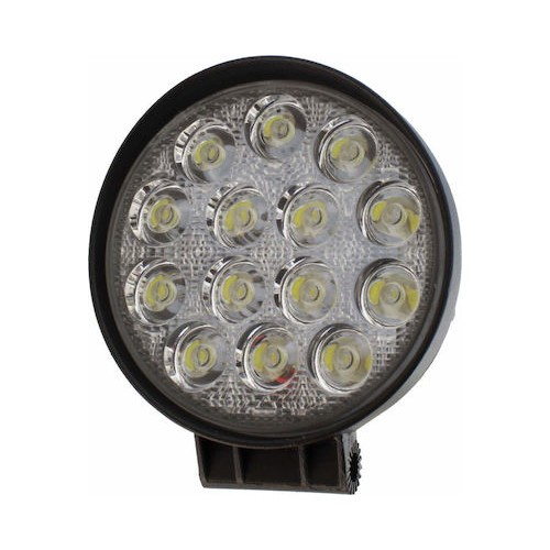 SLIM 42W LED WORK LIGHT ROUND HEADLIGHT