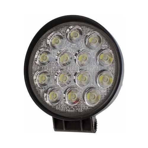 SLIM 42W LED WORK LIGHT ROUND HEADLIGHT