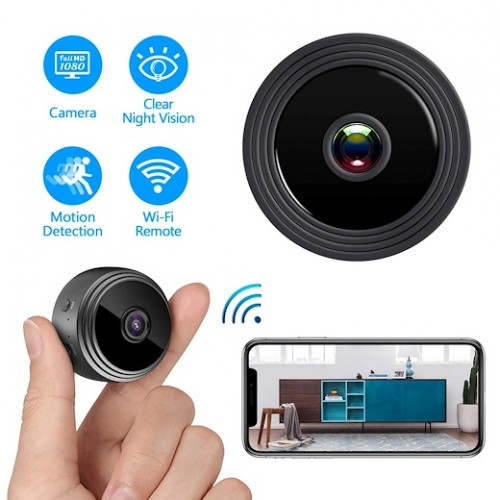 WiFi Camera,1080P Wireless Portable Security Camera Magnetic Small Home Cam with Motion Detection and Night Vision