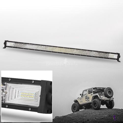 702W LED Work Light Bar Flood Spot Combo Offroad Lamp Car Truck