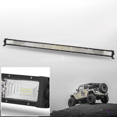 ΑΔΙΑΒΡΟΧΟΣ LED LIGHT BAR 702W 12 - 24 V 52inch 3-Row