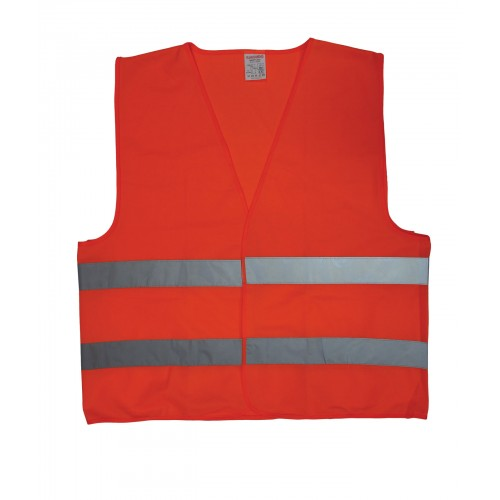 high visibility polyester cheap custom reflector vest for safety