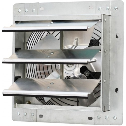 Wall-mounted Automatic Shutter Ventilation Fan 250mm