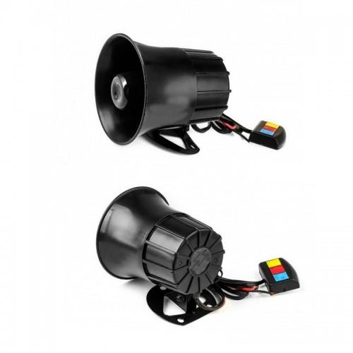 Sound Loud 110dB 30W 12V Alarm Fire Horn Siren Speaker