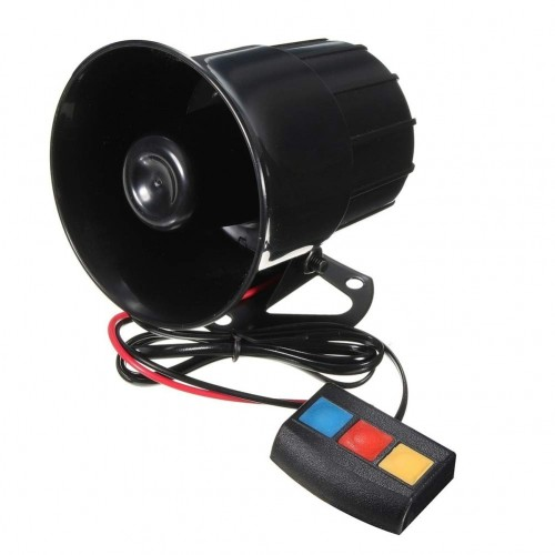Sound Loud 110dB 30W 12V Alarm Fire Horn Siren Speaker