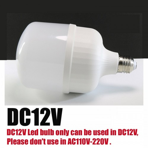 E27 Lamps DC 12V LED Light 24W