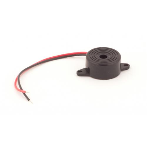 Зумер LD-BZPG-2312-1, пиезоелектрически сигнализатор, 85dB, 3.3kHz, ф22.5x12mm