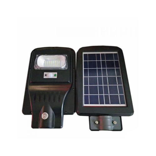 20w all in one solar street light with 50cm lamp arm and remote