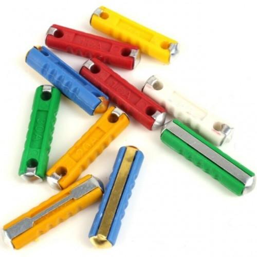Fuse set fuses ceramic fuses Lada 2101-07, Lada Niva 2121, 21213, 21214, 10 pcs