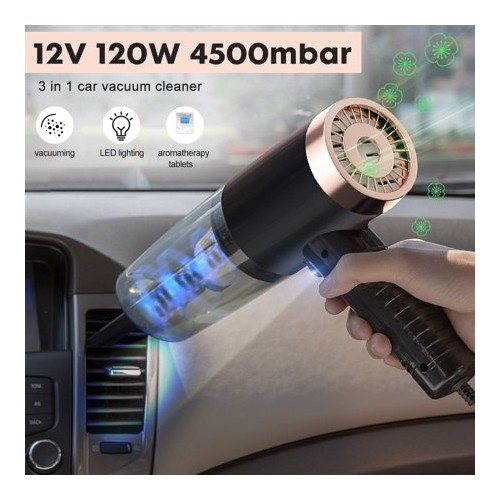 Cleaner Mini Wet/Dry Handheld Auto Vacuum Cleaner for Car Interior & Home Cleaning