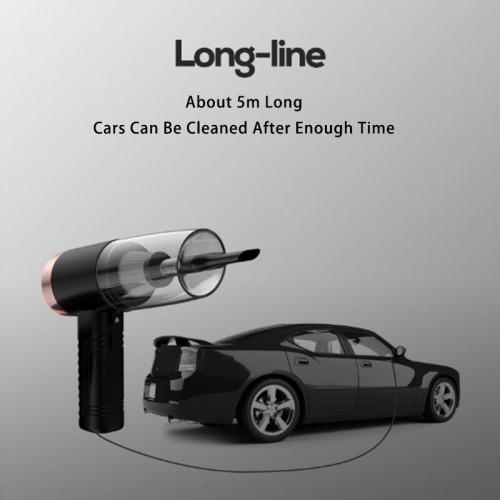 Car Vacuum Cleaner Wet Dry Dual Use Portable Mini Handheld Auto Vacuum Cleaner