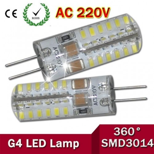 G4 LED Bulbs 280LM Warm White 3000K Lights, 48 x 3014 SMD LED
