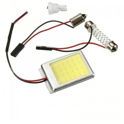 Car Headlight Bulbs(LED) NEW hot sale 8W COB 24 Chip LED Car Interior