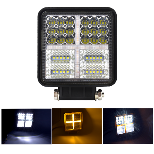 LED 177W COMBO SQUARE HEADLIGHT