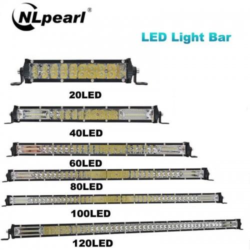 Work Light 240W Combo Spot Flood LED Bar For Truck