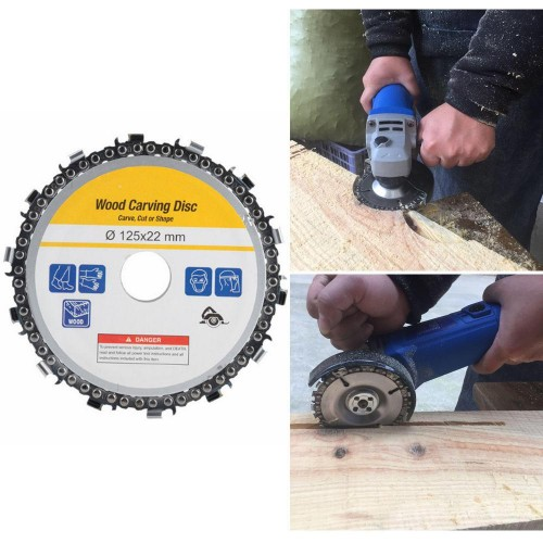 """Wood Carving Disc for Angle Grinder 5""""/125mm"""