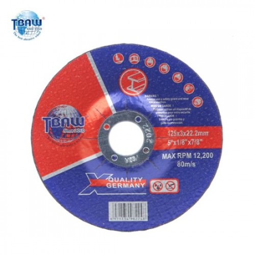 3mm metal saw blade 125mm also for stainless steel
