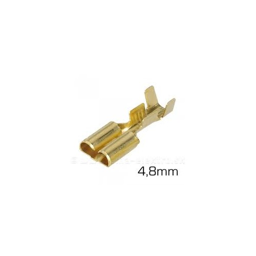 Faston Crimp Receptacle Terminal 16-20AWG
