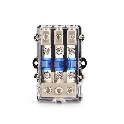 MTA Fuse box for 3 MEGAVAL 3 MIDIVAL fuses