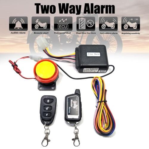 motorcycle alarm 2WAY
