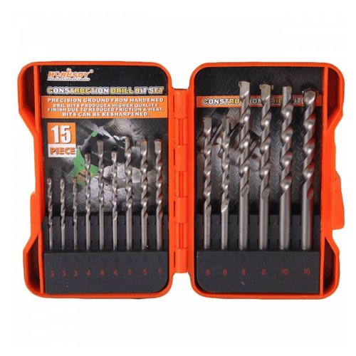 HORUSDY 15PC MASONRY BIT SET