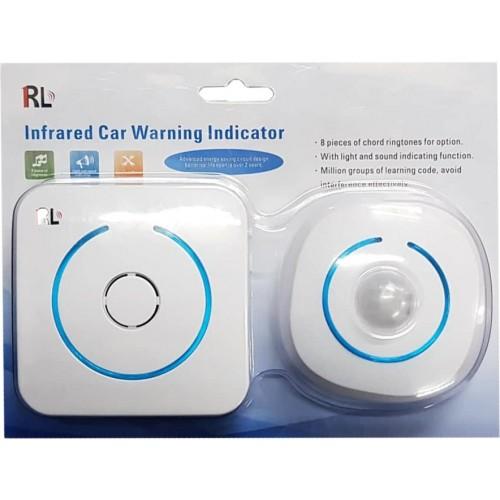 2-WAY INFRARED CAR WARNING INDICATOR ALARM