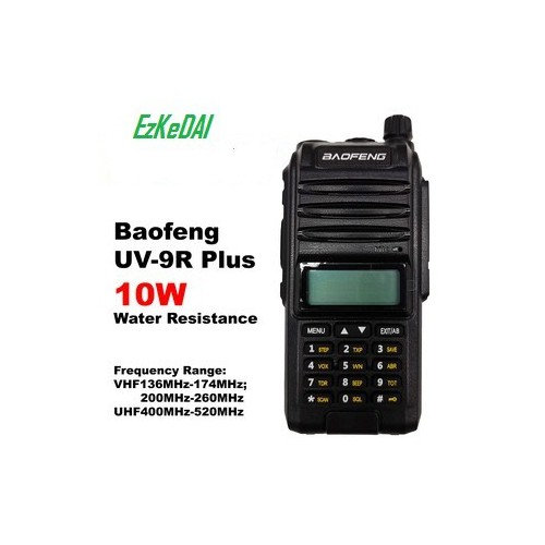 UV-9R Plus 10W Upgrade Version Two Way Radio VHF UHF Walkie Talkie for CB Ham