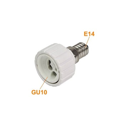 E14 to gu10 socket adapter