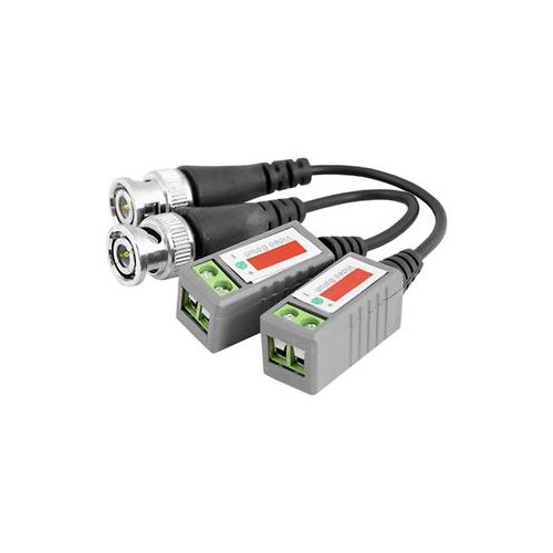 CCTV Camera BNC Male UTP CAT5 Video Balun Transceiver