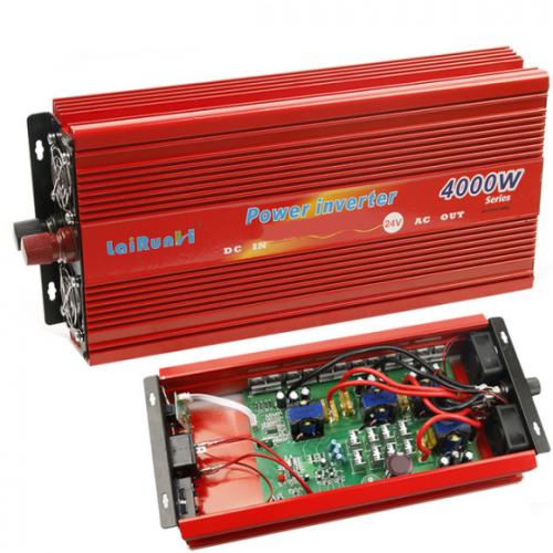 24V DC към 220V AC мощности от 4000W