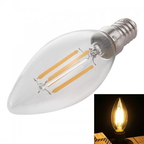 LED Filament Candle 6W Glass bulb 2700k