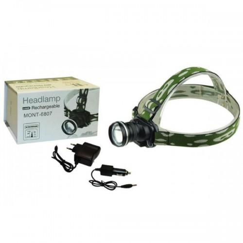 LED Head Lamp Front Torch Battery Fishing Sport Waterproof bl-6816