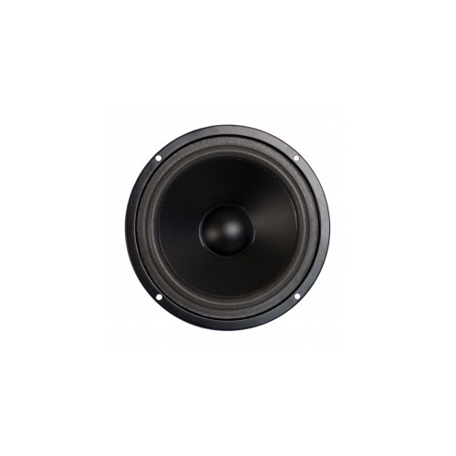 "Paper Cone Series Woofer Megaphone with Black Foam Edge 6\"", 8Ω, 120W."