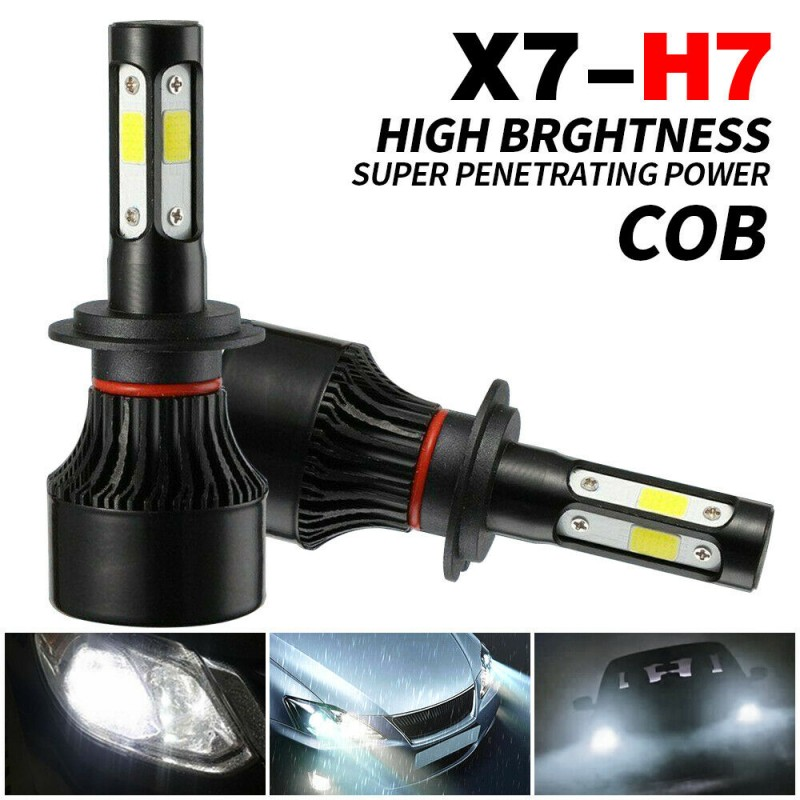 H7_LED_SET 40W HEADLIGHT