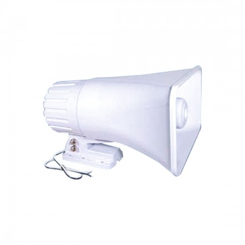 """Indoor/Outdoor PA Horn Speaker - 6"""" Portable PA Speaker with 8 Ohms Impedance"""
