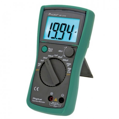 HIGH PRECISION CAPACITANCE METER MT-5110 S/PROskit