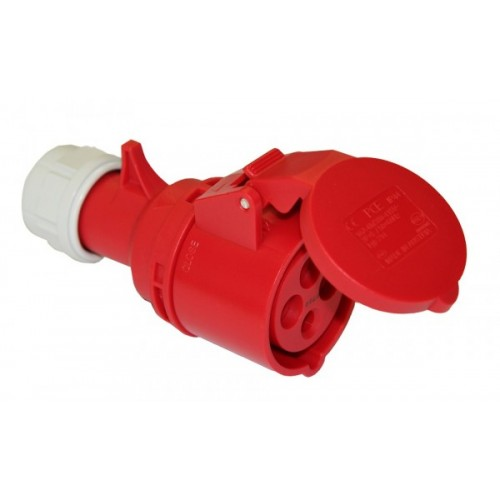 FEMALE INDUSTRIAL PLUG 4P 32A 224-6 IP44 PCE