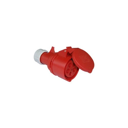 FEMALE INDUSTRIAL PLUG 5P 16A 215-6 IP44 PCE