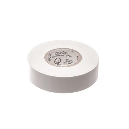 White PVC Electrical Tape