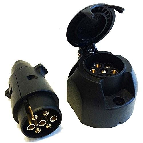 Trailer Plug Socket Set 7 Pin