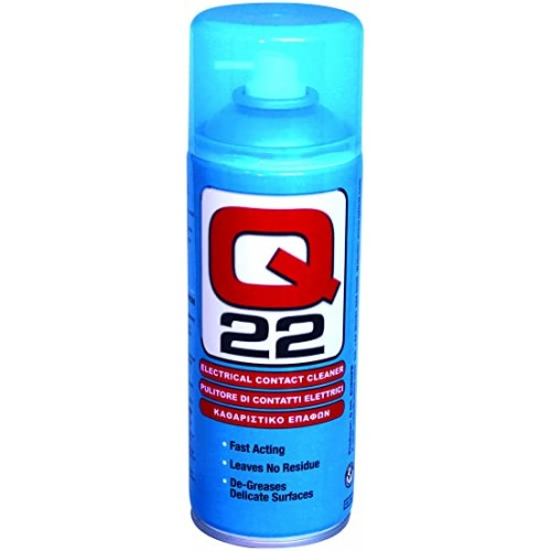 Electrical Circuit Contact Cleaner Spray 400ml - De-Greases Surfaces